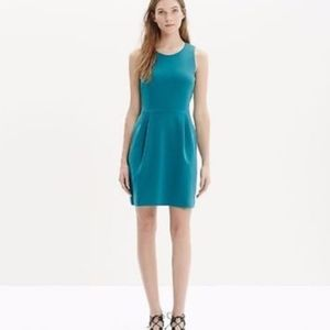 Madewell Turquoise Verse Dress with POCKETS!